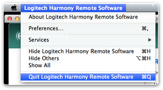 My harmony software